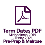 Term Dates Melrose 2019 2021