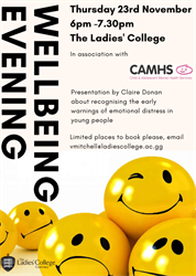 Wellbeing Evening