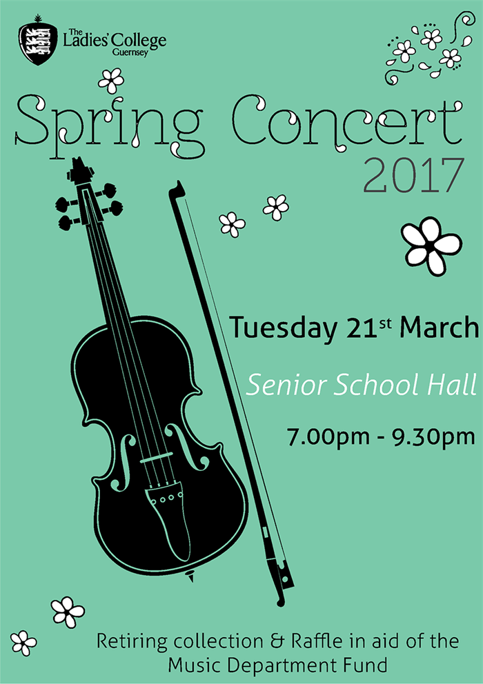 Spring Concert 2017 Poster Final Version 6Th March