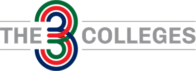 The 3 Colleges Logo Small