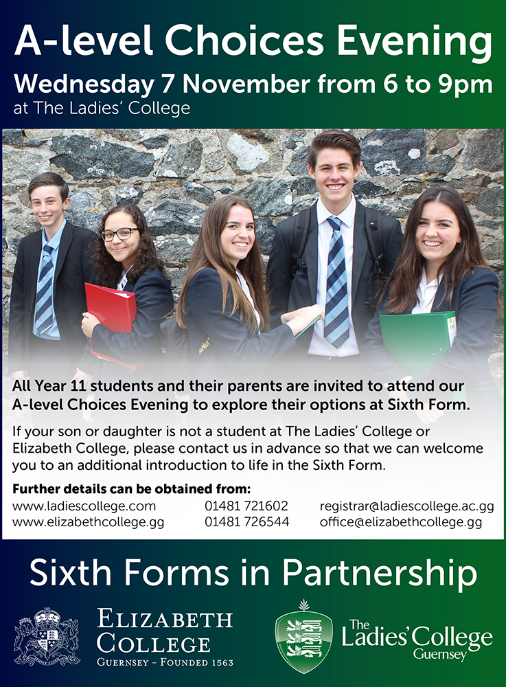 A Level Choices Evening